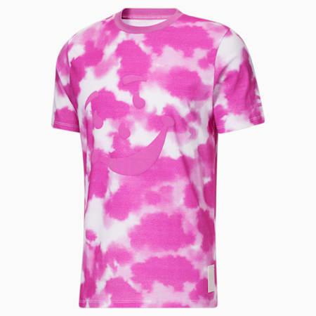 Camiseta de teñido anudado PUMA x Kool-Aid para hombre, Spring Crocus, pequeño