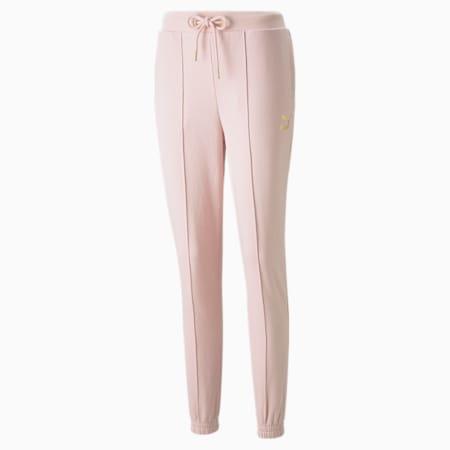 PUMA x PAMELA REIF slanke sweatpants voor dames, Lotus, small