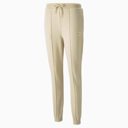 Damskie spodnie dresowe PUMA x PAMELA REIF Slim, Pebble, small