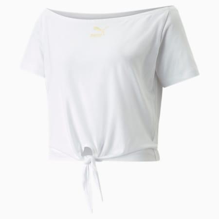 Damska koszulka PUMA x PAMELA REIF Knot, Puma White, small