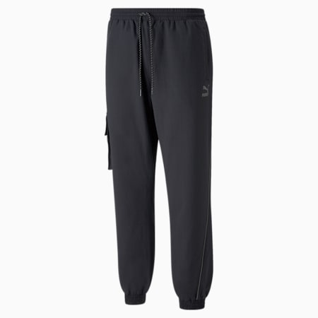 Men's Cargo Pants, Puma Black, small