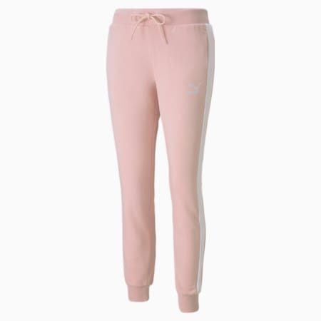 Iconic T7 Regular Fit Women's Track Pants, Lotus, small-IND