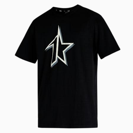 PUMA x 1DER Relaxed Fit Men's T-Shirt, Puma Black, small-IND