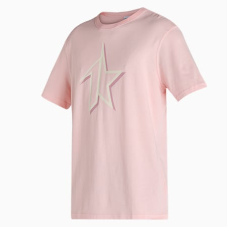 PUMA x 1DER Relaxed Fit Men's T-Shirt, Lotus, small-IND