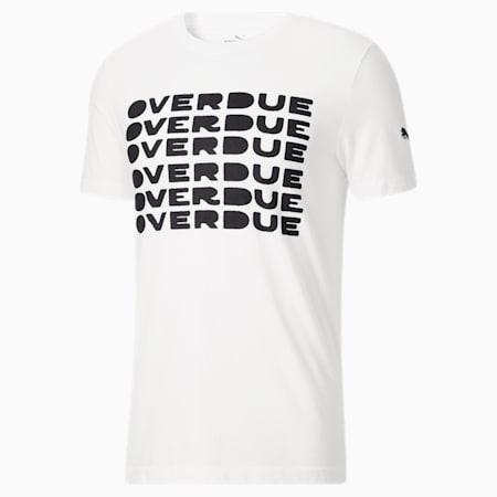 Camiseta Overdue, Puma White, pequeño