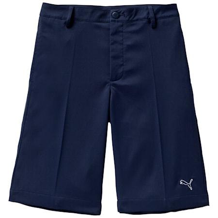 Junior Tech Shorts, peacoat, small-SEA