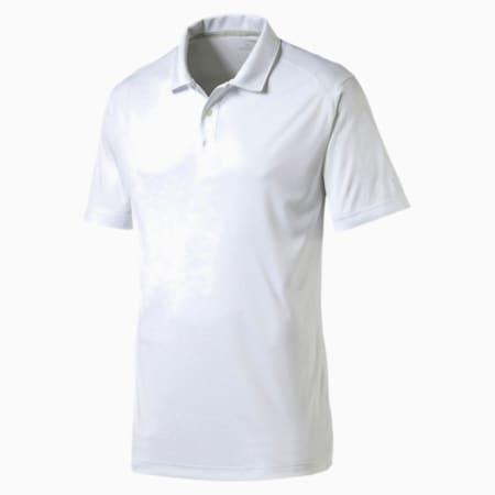 Essential Pounce Polo Shirt, bright white, small-SEA
