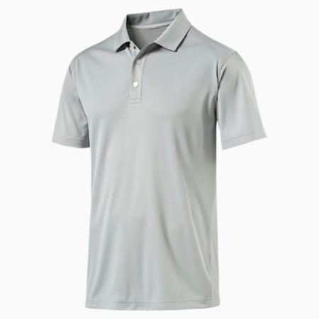 Essential Pounce Polo Shirt, quarry, small-SEA