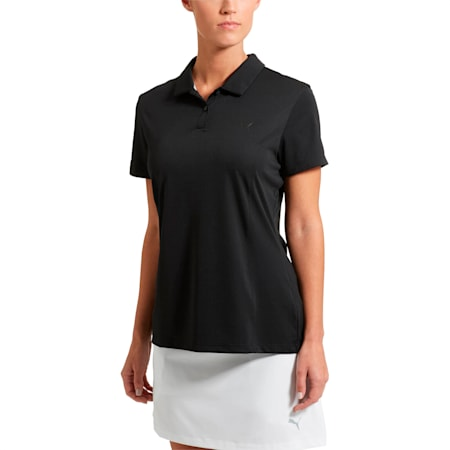 Golf Women's Pounce Polo, black, small-SEA