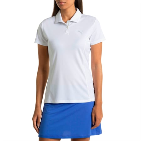 Golf Women's Pounce Polo, bright white, small-SEA