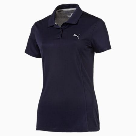Golf Women's Pounce Polo, Peacoat, small-SEA