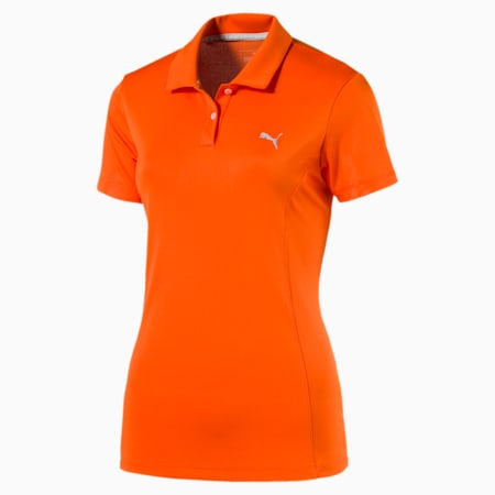 Golf Women's Pounce Polo, GOLDEN POPPY, small-SEA