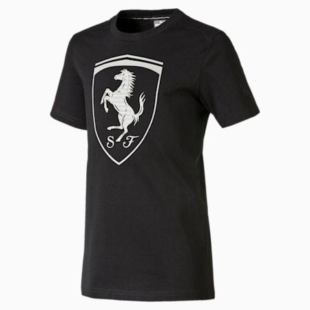 Ferrari Big Shield T-Shirt, moonless night, small-IND