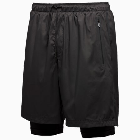 Stampd Tech Shorts, black, small-IND