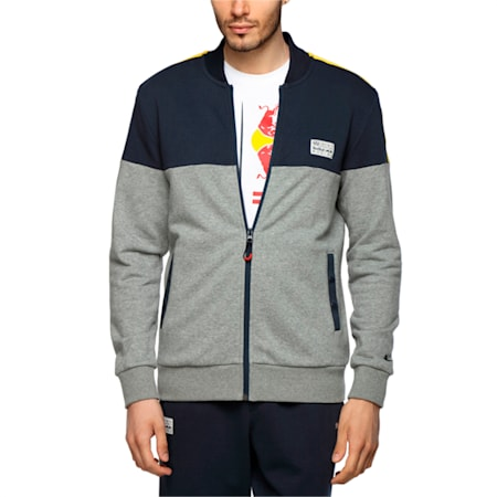 Red Bull Racing Sweat Jacket, Total Eclipse, small-IND