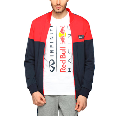 Red Bull Racing Sweat Jacket, Chinese Red, small-IND