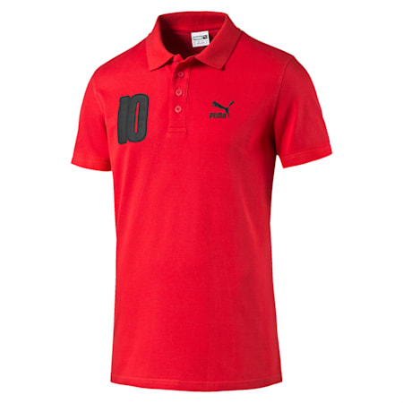 Football Polo, high risk red, small-IND