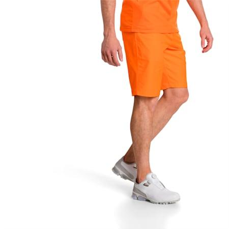 Golf Men's Essential Pounce Shorts, Vibrant Orange, small-SEA