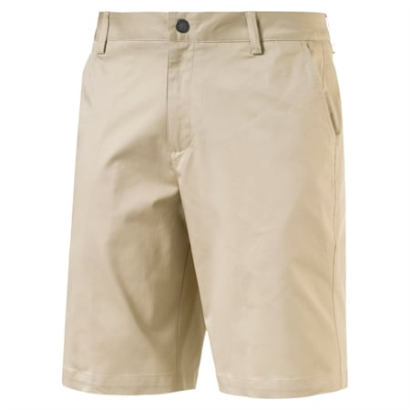 Golf Men's Tailored Chino Shorts, White Pepper, small-IND