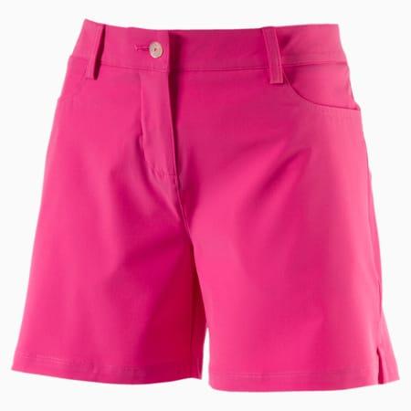 Solid Golf Shorts, SHOCKING PINK, small-SEA