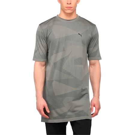 Evolution Men's evoKNIT Image T-Shirt, Medium Gray Heather, small-IND