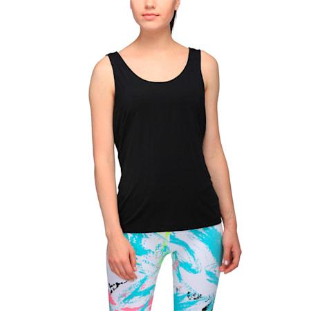 Evolution Women's Tank Top, Puma Black, small-IND
