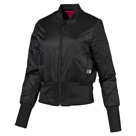 Reversible Bomber Padded Jkt, Puma Black, small-IND