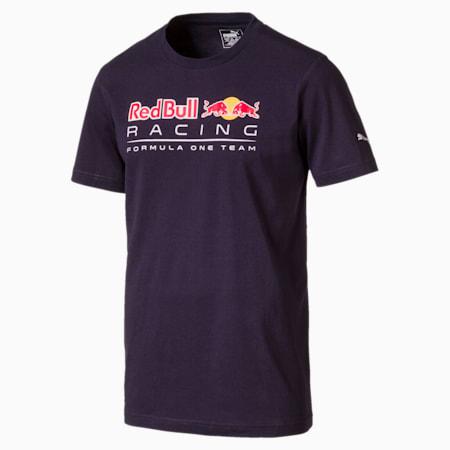 Red Bull Racing Men's Logo T-Shirt, NIGHT SKY, small-SEA