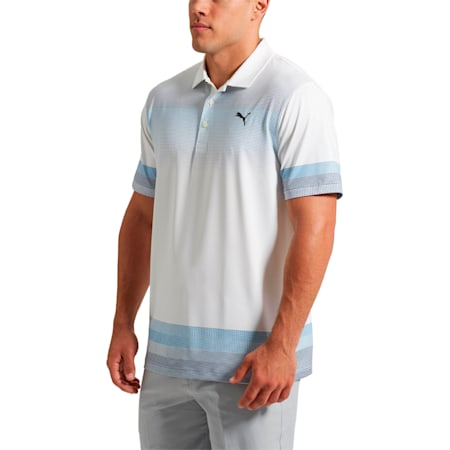 Golf Men's Untucked Polo, bright white, small-SEA