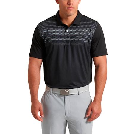 Golf Men's Road Map Polo, Puma Black, small-SEA