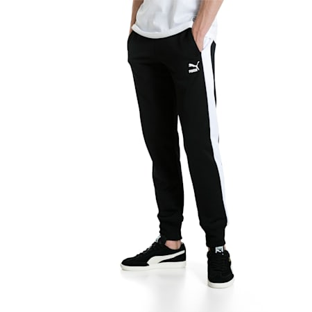 Archive Men's T7 Track Pants, Puma Black, small-IND