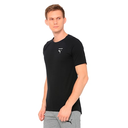 Evolution Men's Core T-Shirt, Puma Black, small-IND