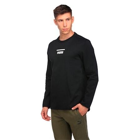 Evolution Men's Core Sweater, Puma Black, small-IND