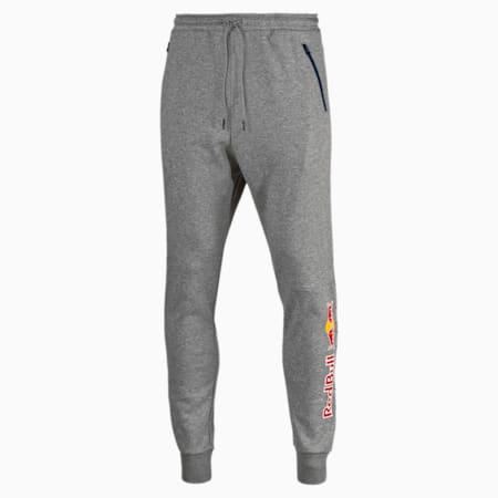 Red Bull Racing Lifestyle Men's Sweatpants, Medium Gray Heather, small