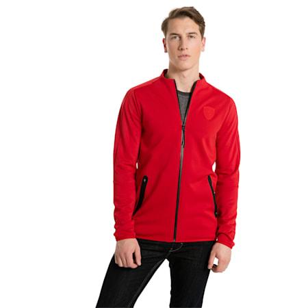 Ferrari Lifestyle Men's T7 Track Jacket, Rosso Corsa, small-SEA