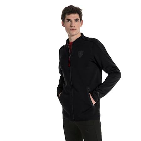 Ferrari Lifestyle Men's T7 Track Jacket, Puma Black, small