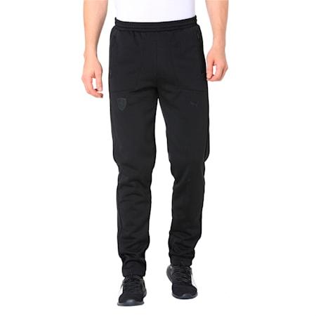 Ferrari Lifestyle Men's T7 Track Pants, Puma Black, small-IND