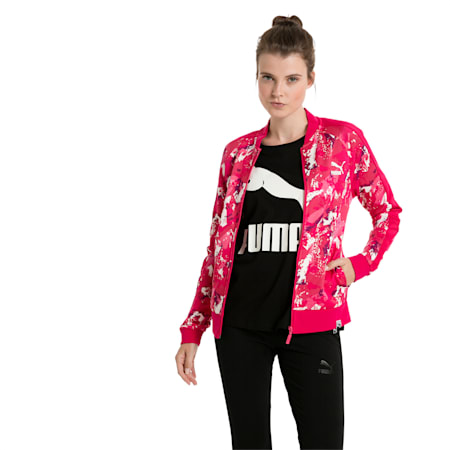Classics Women's AOP Archive T7 Track Jacket, Love Potion, small-IND