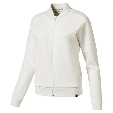 Classics Women's Structured Archive T7 Track Jacket, Marshmallow, small-IND