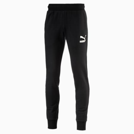 PUMA Men's Archive Logo Sweat Pants, Cotton Black, small-SEA