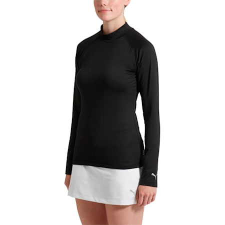 Golf Women's Baselayer, Puma Black, small-SEA