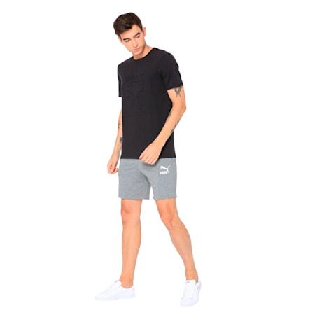 Classics Men's Archive Embossed Logo T-Shirt, Puma Black, small-IND
