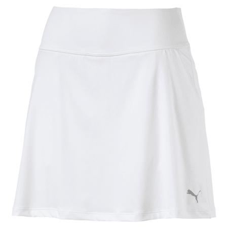 Damska spódnica z dzianiny Golf PWRSHAPE Solid, Bright White, small