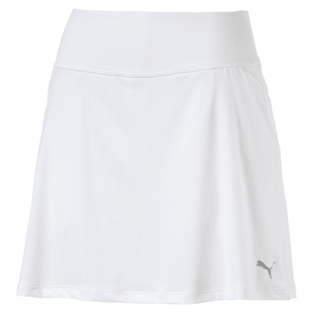 Golf Women's PWRSHAPE Solid Knit Skirt, Bright White, small