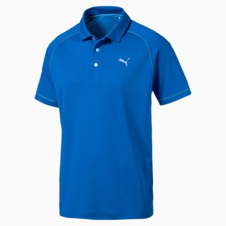 Golf Men's PWRCOOL ADAPT Sport Polo, Electric Blue Lemonade, small-SEA