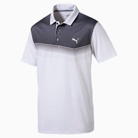 Golf Men's Road Map Polo, bright white-Black, small-SEA