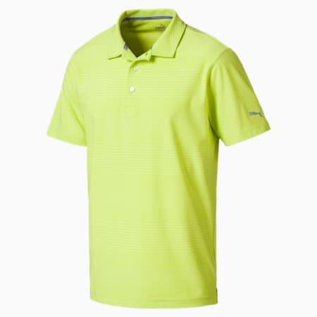 Golf Men's Aston Polo, Acid Lime, small-SEA