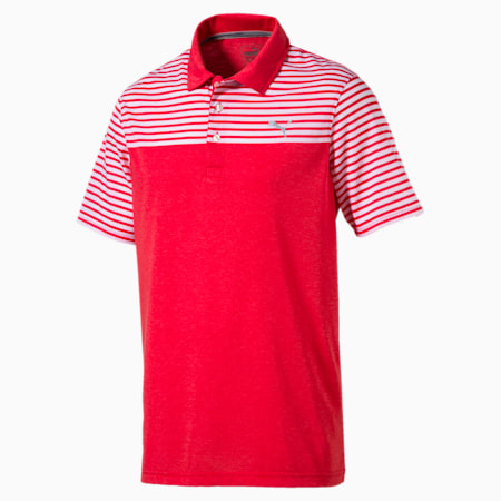 Golf Men's Clubhouse Polo, high risk red, small-SEA