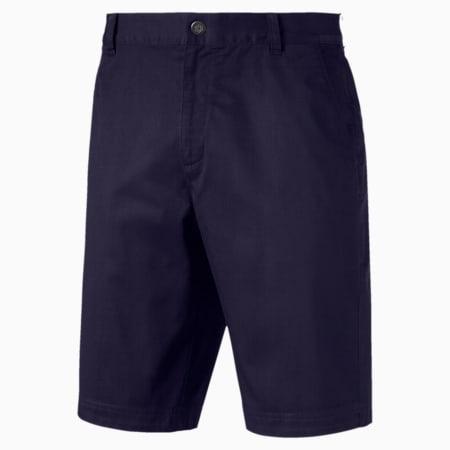 Aloha Men's Golf Shorts, Peacoat, small-IND