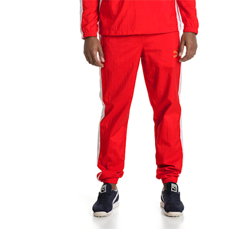 T7 BBoy Track Pants, Flame Scarlet-white, small-SEA